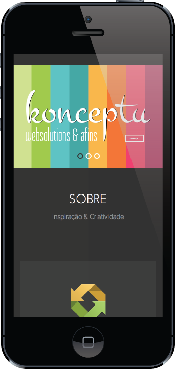 iphone konceptu web solutions & afins