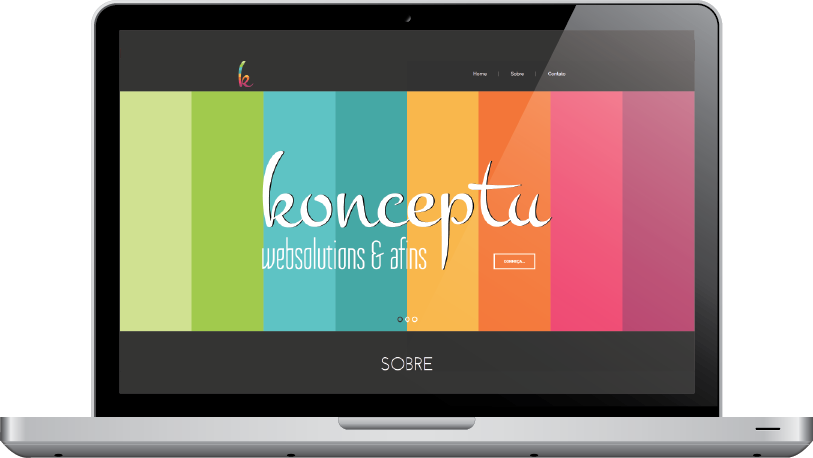 macbook konceptu web solutions & afins